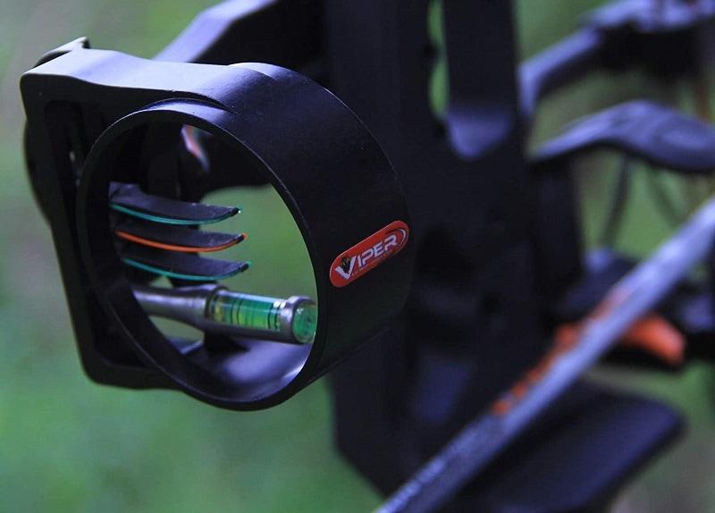 VIPER Archery Venom JR. Compound Bow Sight, Made in USA, Durable Machined Aluminum