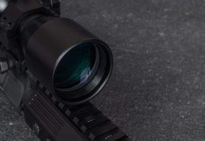 close up Monstrum Tactical 3-9x40 (FFP) Rifle Scope