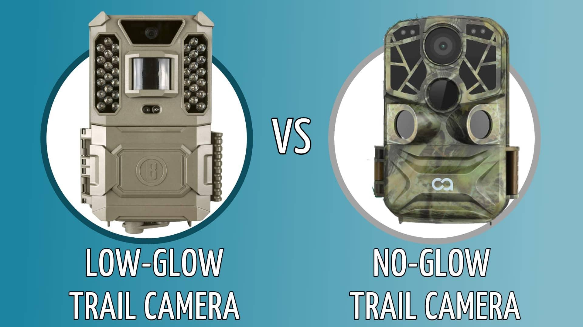 low glow vs no glow trail camera