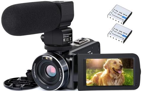Actinow Video Camera Camcorder_Amazon
