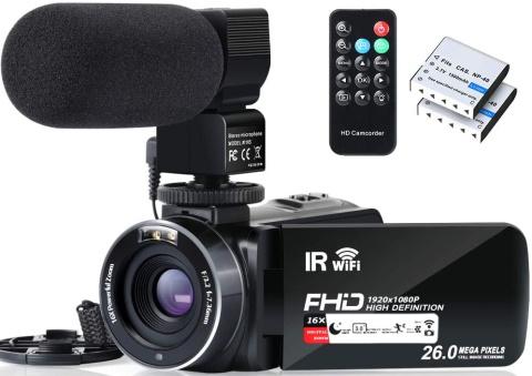 Alsone video camcorder_Amazon