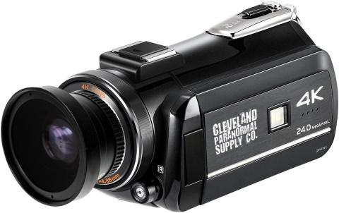 Cleveland 4K Ultra HD camcorder_Amazon