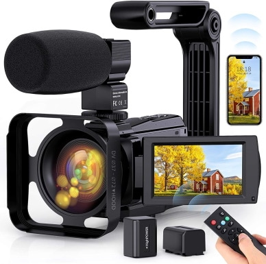 Fambrow 4K Video Camera_Amazon