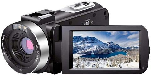 Linnse Video Camera Camcorder_Amazon