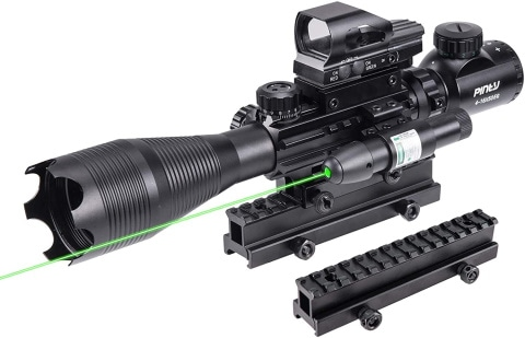 Pinty illuminated reticle Rifle Scope_Amazon
