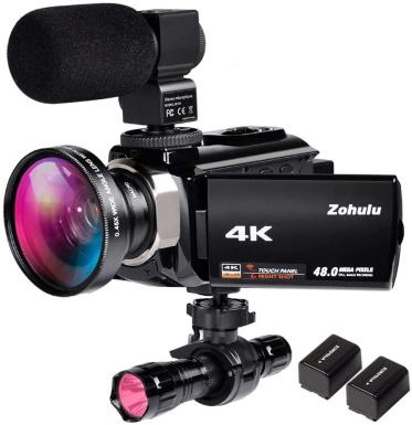 Zohulu 4K Video Camera Camcorder_Amazon