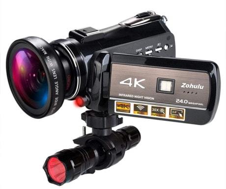 Zohulu 4K Wifi Full Spectrum Camcorders_Amazon