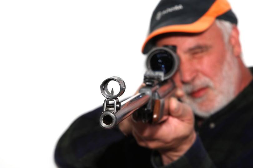 rifle iron sight_Edgar G Biehle_Shutterstock