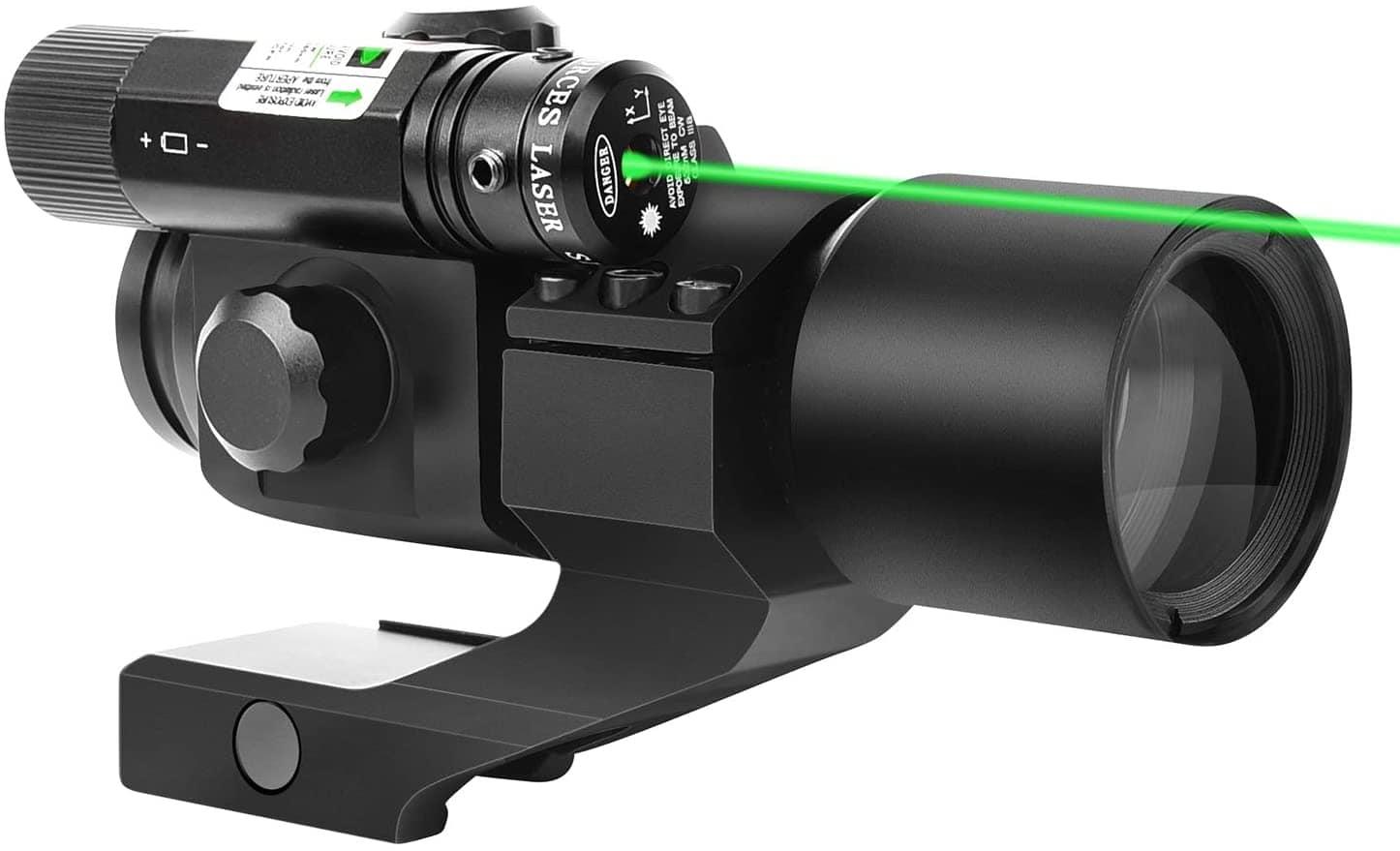 Green Laser Reflex Sight with 20mm Mount_amazon