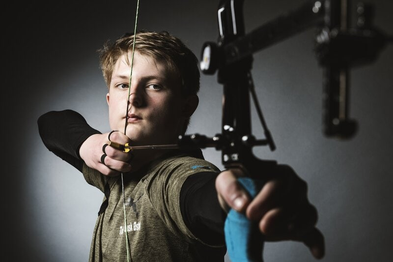 recurve bow youth archery arrow sight