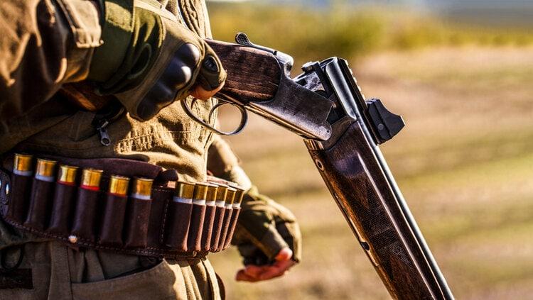 shotgun reloading red dot sight ammo belt shells